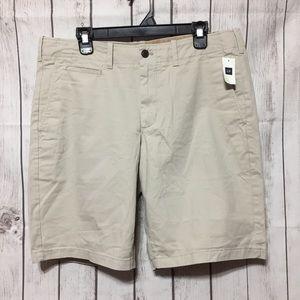 GAP Lived-In Khakis Chino Shorts Mens 36